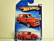 HOT WHEELS 1956 FORD PANEL TRUCK W/ CHAMPION SPARK PLUG GRAPHICS NEW IN 2010 PKG
