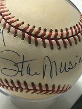 Cardinals HOF Stan Musial Autographed Baseball - Happy Birthday