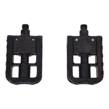 Cycling Bike Bicycle MTB BMX Folding Plastic Pedals Flat Platform Outdoor G D6M2