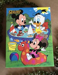 Disney Babies ~ 63 XL Pieces ~ Vintage Golden Jigsaw Puzzle ~ NEW SEALED