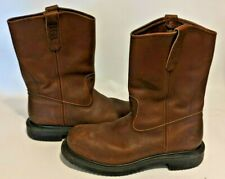 Red Wing Pecos 2231 Mens 9 1/2 D 9.5 STEEL TOE Work Farm Brown Leather Boot