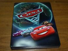 "Collectable Disney PIXAR ""Cars 2"" Blu-Ray DVD Tin Storage Case"