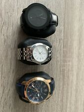 Men's Watch Collection Lot (Movado, Swiss Army, Fossil)