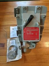 Appleton JBR3034150 Switched Receptacle 30A 4 Pole 3 Wire 600V Dead Front