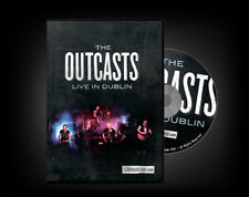 The Outcasts - Live In Dublin DVD 2012 Irish PuNk KBD