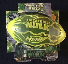 Hulk Wetter Blitz Nerf Fußball Super Tough Vintage Hasbro Nerf. nagelneu