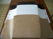 Moke Seat Cushions Sling Type Seats 4 Cushions for 2 seats NEW