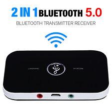 Bluetooth 5.0 HIFI Audio Receiver Transmitter Empfänger Sender TV 3,5mm Klinke