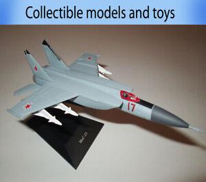 model aircraft MIG-25 Mikoyan, legendary Soviet aircraft, deagostini, casting