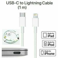 Lightning a USB Cable Cargador Rápido Tipo C sincronización de datos para iPhone 11 Pro Mac Libro