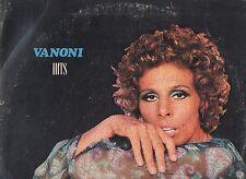 ORNELLA VANONI disco LP 33 giri VANONI HITS stampa ITALIANA 1972 MADE in ITALY