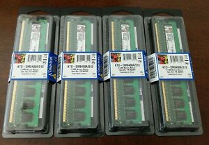 LOT OF 4 KINGSTON (KTD-DM8400A/512) 2GB (8X512)   NEW UNOPENED FREE SHIPPING