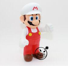 "Nintendo Super Mario Bros 1 Pcs 5"" Fire Mario Figure Free Shipping"