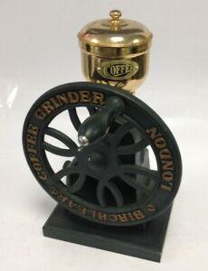 Vintage Birchleaf Coffee Grinder. London Cast Iron Design. No.2063773 #55768