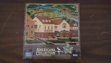 AMERICANA COLLECTION - MOOSE STROLL DOWN MAINSTREET  500 PC Puzzle