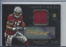 MICHAEL FLOYD 2012 TOPPS INCEPTION GOLD INK RPA ROOKIE PATCH AUTO RC #D 3/25