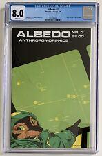 (1985) ALBEDO #3 2nd Appearance USAGI YOJIMBO! CGC 8.0