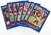 2020 Panini Donruss Football blue press proof parallel u pick from list #1-350