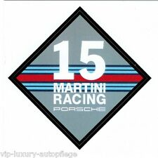 "Porsche Martini Racing""Aufkleber Eckig  Neu rar selten 911 997 991 in 43x43mm"