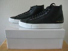 Common Projects Achilles High Black Pebble Leather Men's. Size 8 US LIMITED ED.