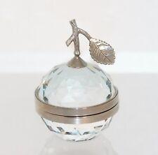 Swarovski Crystal Original Picture Frame Apple Silver Small