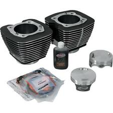 Revolution Performance - 201-123W - Monster Big Bore Kit Silver (114in. Flat Top