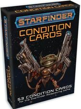 Starfinder Condition Cards by Paizo Staff. (New) (Sealed)