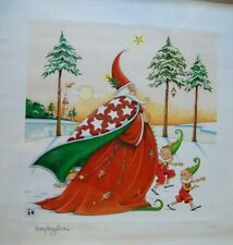 """The Christmas Wizard Fine lithograph by Mary Engelbreit 24x24"""""""