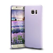 Technext020 Protective Silicone Cover for Samsung Galaxy S7 Edge - Lavender