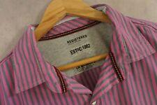 Next Purple Striped Shirt Size XXL New
