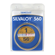 Lucas Milhaupt Silvaloy 560 56% Silver Solder Brazing Alloy 1 oz, 98060