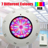 Hard-Working 7-color Swimming Pool Led Bright Light 24w Rgb Underwater Lamp With Remote Controller Ip68 Waterproof Outdoor Lamp Pond Light Discounts Price Led Underwater Lights Lights & Lighting