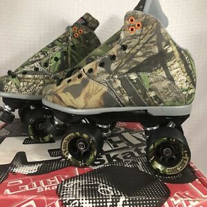 Sure Grip International Camouflage Speed Roller Skates Men Size 6 Women 7 New