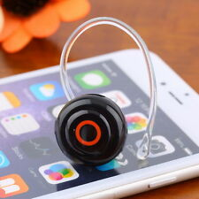 Smallest Music+Phone Calls Hands-free Stereo Bluetooth Mini Earphone Headset HJ