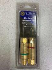 Western Enterprises Flashback Arrestor Set FA10