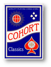 Cohorts Blue Playing Cards Poker Cardistry