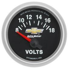 "Auto Meter Voltmeter Gauge 880444; Copo Camaro Voltmeter 2-1/16"" Electrical"