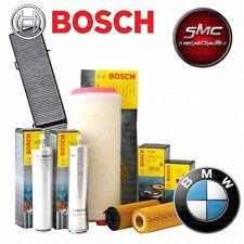 Kit tagliando 4 FILTRI BOSCH BMW 118D E81 E87 105 KW
