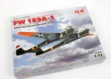 ICM 72249 1:72nd scale Focke-Wulf Fw 189A-1 WWII  'Axis' Reconnaissance Plane