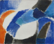 LUIGI GUARDIGLI (1923-2008) LA RUCHE PARIS COMPOSITION ABSTRAITE HST 1964 (17)