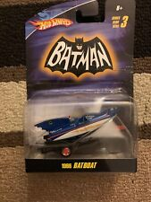 Mattel Hot Wheels 1966 Batman Classic TV Series BATBOAT with Trailer NEW!