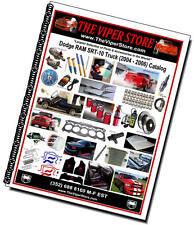 Dodge RAM SRT10 Viper Truck - World's Largest Parts & Accessories Store -Catalog