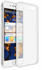 mumbi Hülle f. iPhone 7 PLUS / iPhone 8 PLUS Schutzhülle Case Tasche tr. weiß