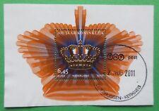 Nederland NVPH 2519 blok 200 jaar Koninkrijk 2007 stempel variant 1 gestempeld