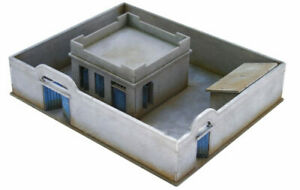 North African/Colonial Compound and House 20mm MDF Sarissa Precision N286