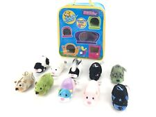 Zhu Zhu Pets in HAMSTER HANGOUT Collectible Storage Case w/ 10 Hamsters