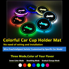 1pcs Car Multicolor LED Lighting Decor Lamps Light For Jeep Lamp Interior Lights