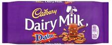 Cadbury Dairy Milk Daim Chocolate Bar 120g x 18 (236084) Crunchy Almond Caramel