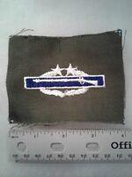Authentic US Army Combat Infantryman Badge (CIB) 3rd Award Insignia Patch
