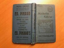 Guide Michelin Deutschland 1913